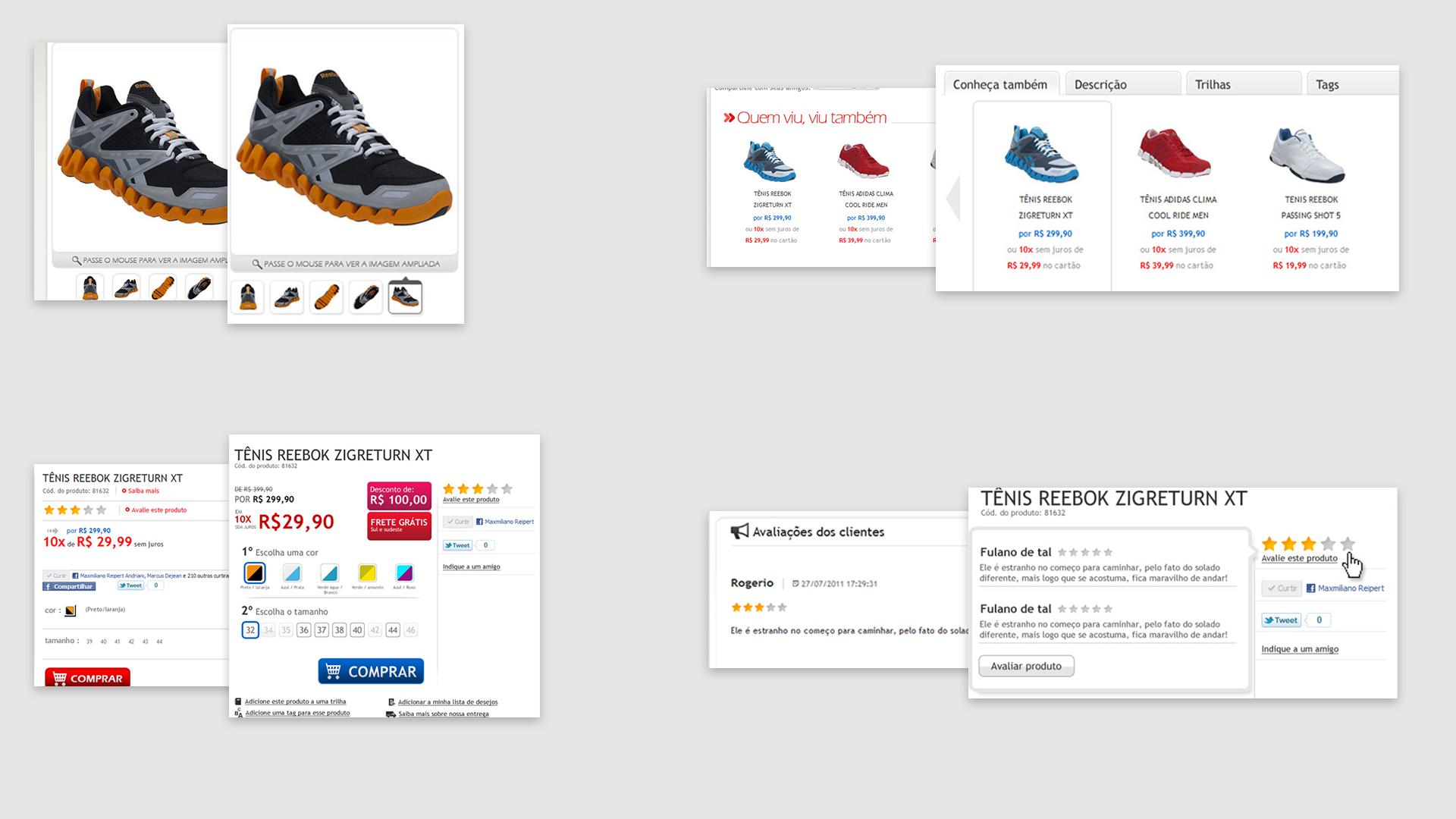 Shop Masp: Comparação Antes vs Depois